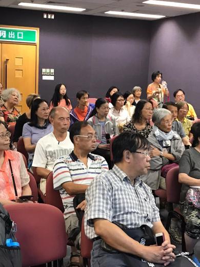 Public Talk - 22 Sept 2019